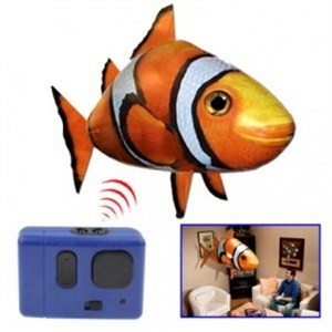 harga Air Swimmers Remote Control Flying Clownfish - Orange Tokopedia.com