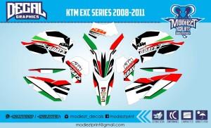 harga DECAL KTM EXC Tokopedia.com