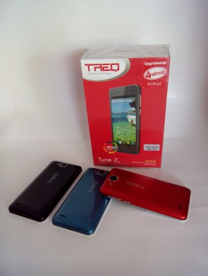 Smartphone Android TREQ Tune Z2 Amoled IPS Display