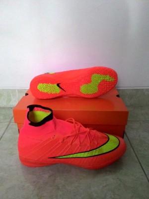 harga Sepatu Futsal Nike Mercurial Superfly Flyknit Merah (Grade Ori/Replika Tokopedia.com