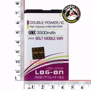 Batre/Batrei/Baterai Modem BOLT (ZTE MF90) 3500mAh Double Power