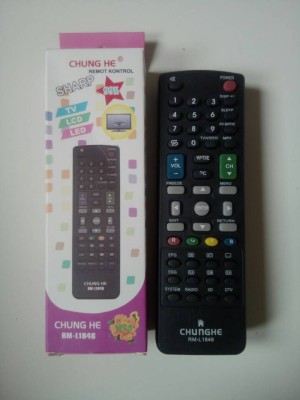 harga REMOT / REMOTE TV LCD/LED SHARP MULTI/UNIVERSAL CHUNGHE Tokopedia.com