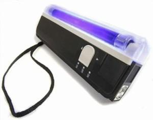 harga money detector (detektor alat pendeteksi deteksi uang palsu lampu) Tokopedia.com