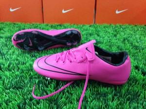 Sepatu Bola Nike Mercurial Vapor X Hyperpink