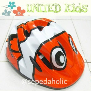 Helm sepeda anak United Kids C-42 Jr.Mora