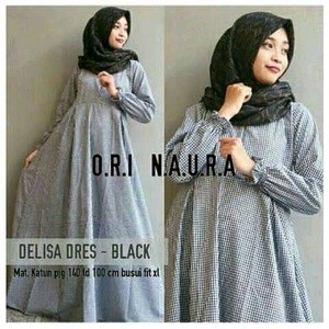 harga Delisa dress busana muslim Tokopedia.com