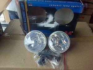 harga Foglamp/ lampu kabut DLAA bulat kecil H3 55W diameter 10 cm Universal Tokopedia.com
