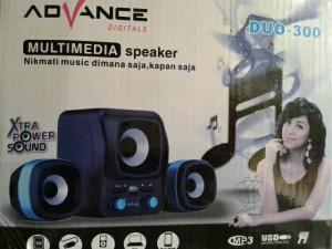 harga speaker aktiv mini subwoofer advance duo-300 Tokopedia.com