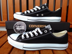 Sepatu Converse CT All Star (Basic) Black White Original