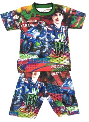 Setelan Anak Lorenzo | Baju Balap | Baju Anak | Yamaha