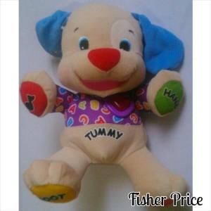 (BONFIS43) Boneka puppy fisher price