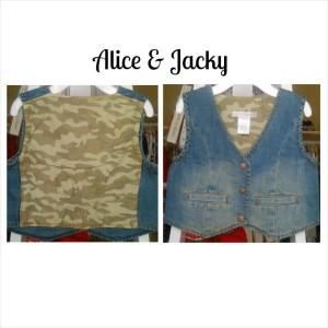 (1ALI159) Rompi alice & jacky jeans