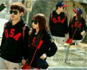 couple usa jacket
