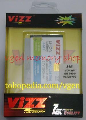 Battery Blackberry DAKOTA Bold 9900 2800MAH VIZZ long lasting Baterai BB JM1
