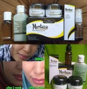 Paket Krim Pemutih Wajah Mumtaza Herbal Whitening Cream Sucofindo