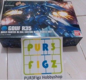 Gundam HGBF High Grade MS-07R-35 Gouf R35