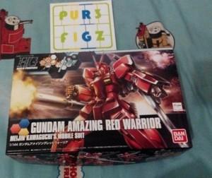 Gundam HGBF High Grade Red Warrior Try Build Fighter