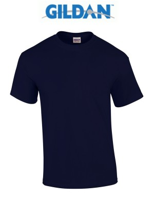 kaos polos soft cotton gildan warna navy dongker
