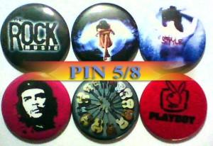 PIN 58 (Pin diameter 5,5 cm)