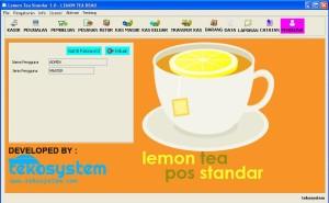 Lemon Tea Pos Standar Full