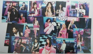 READY STOCK Girls Generation / SNSD Mr Mr Postcard Set