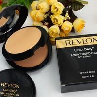 Bedak REVLON colorstay 2 way foundation - BEDAK REVLON 2 in 1