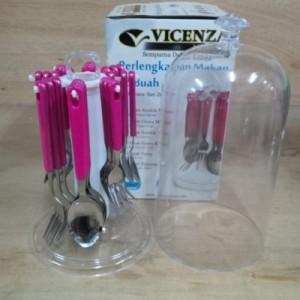 sendok set vicenza pink V 248C .