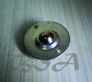Roda meja / furniture / rak besi diameter 7 cm sistem skrup model UFO