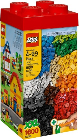 harga LEGO 10664 BASIC Creative Tower Tokopedia.com