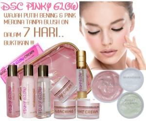 DSC Pinky Glow Cream | Cream Wajah Putih Bening & Pink Merona
