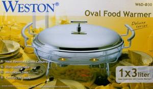 harga WESTON DELUXE OVAL FOOD WARMER 3LT (W6D-O30) Tokopedia.com