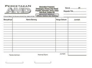 Jual Cetak Nota Ncr 4 Ply Murah Kota Medan Sprint Shop Tokopedia