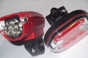 Lampu Sepeda White LED Head Light Murah