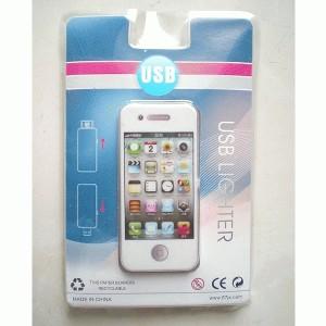 Korek Elektrik USB bentuk Iphone Murah