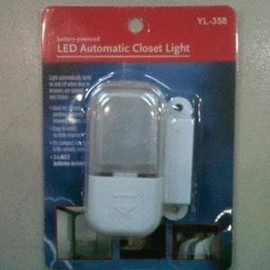 Lampu Otomatis Untuk Lemari