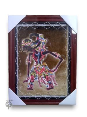 Lukisan Kulit Kambing Wayang Gatotkaca