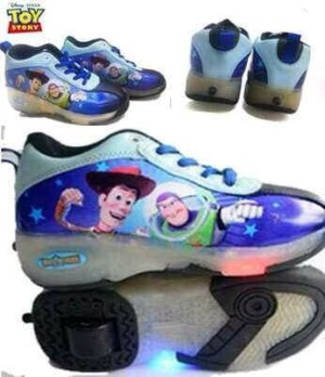 Sepatu Roda Lampu Toy Story - Original