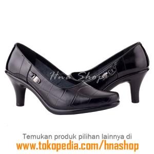 Sepatu Pantofel / Formal / Kerja Kulit Wanita HJK-154