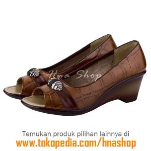Sepatu Pantofel / Formal / Kerja Kulit Wanita HJK-167