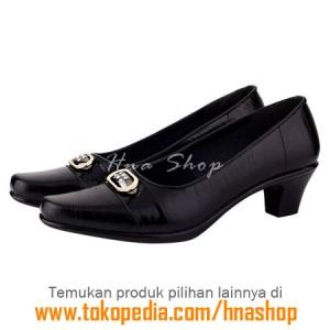 Sepatu Pantofel / Formal / Kerja Kulit Wanita HJK-175