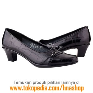 Sepatu Pantofel / Formal / Kerja Kulit Wanita HJK-156