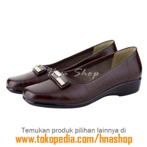 Sepatu Pantofel / Formal / Kerja Kulit Wanita HJK-171