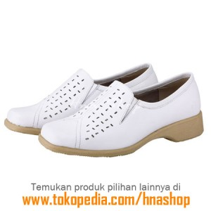 Sepatu Pantofel / Formal / Kerja Kulit Wanita HJK-173