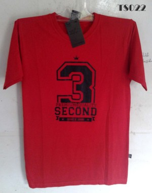 Jual Kaos Three Second