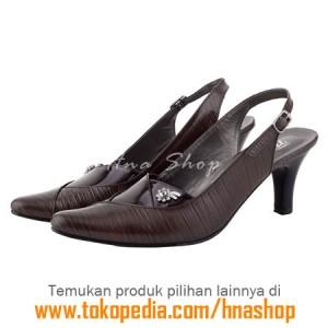 Sepatu Pantofel / Formal / Kerja Kulit Wanita HJK-198