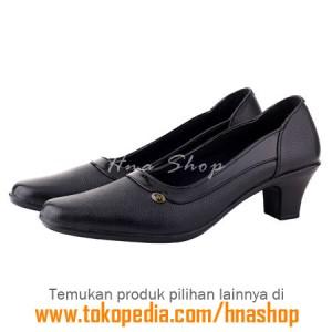 Sepatu Pantofel / Formal / Kerja Kulit Wanita HJK-190