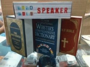 Jual SPEAKER Alkitab ALQURAN BIBLE, KAMUS - Scorpio | Tokopedia