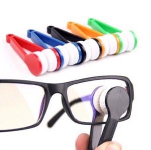 Pinset microfiber pembersih kacamata