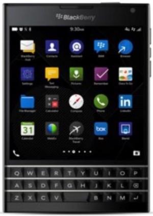 Original Blackberry Pasaport SQW100 4G LTE-32GB-Black-Free Pen Ferrari