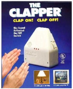 The Clapper / Stop kontak dengan sensor tepuk